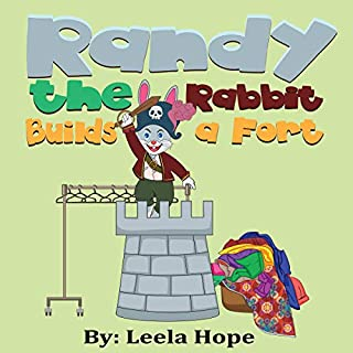 Randy the Rabbit Builds a Fort cover art