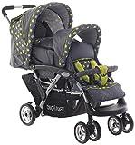 CHIC 4Baby Carrito Duo Incluye Baby Bolsa de transporte y de lluvia, varios. Colores negro Jeans black