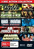 Action Collection (5 Films) - 5-DVD Set ( Street Racer / Nightmare at Noon / Epoch: Evolution / Air Force Two / Dragon the Master ) ( Death [ Origen Australiano, Ningun Idioma Espanol ]