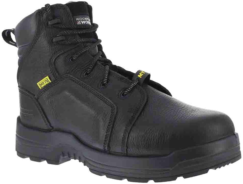 Rockport Works herrar RK6465, svart Full Grain läder, USA USA USA 15 M  fri frakt och utbyte.