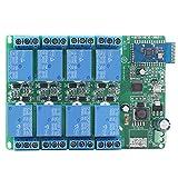 動作電流:スタンバイ電流(すべてのリレーが閉じて)最大15mA、1リレーオープン41MA、2つのリレーオープン69MA、3つのリレーオープン96MA、4つのリレーオープン123MA、5つのリレーオープン150MA、6つのリレーオープン177MA、7つのリレーオープン203MA、オープン8つのリレー229MA。 オン、オフのAndroidのBluetooth APP制御リレー経由でコマンドを送信します(ちょうどあなたのAPPストアし、ダウンロードでのBluetooth APPを検索してください)。...
