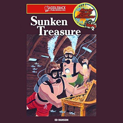 Sunken Treasure audiobook cover art