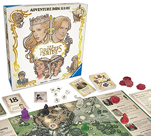 Ravensburger The Princess Bride - Strategy Board Games for Adults & Kids Age 10 Years Up