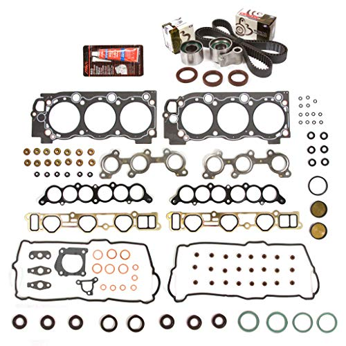 Evergreen HSTBK2034 Head Gasket Set Timing Belt Kit Compatible with/Replacement for 95-04 Toyota Tacoma Tundra T100 3.4 5VZFE