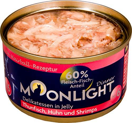 Moonlight-Dinner 24x Nr.:6 Thunfisch, Huhn und Shrimps