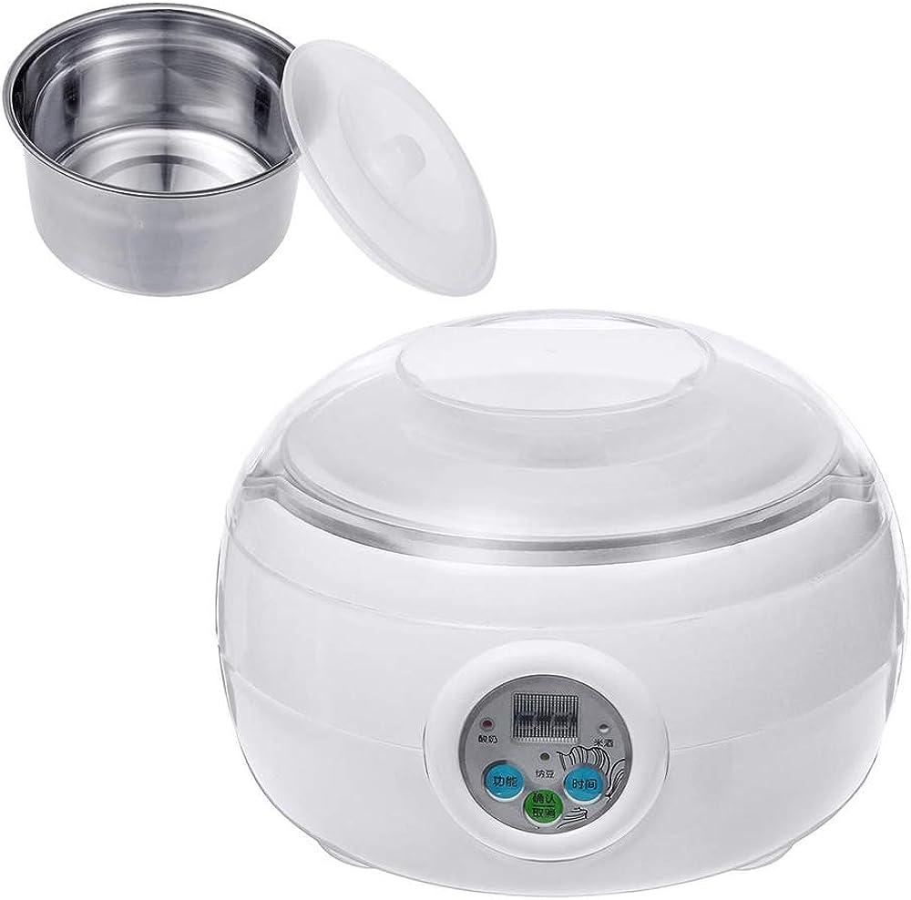 Sjtl macchina per formaggio e yogurt cestello removibile in acciaio inossidabile adatto per vegani 777-861-843
