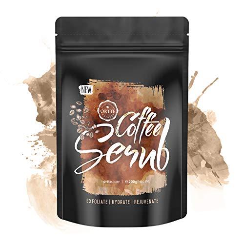 Örtte Coffee Scrub - Exfoliante Natural de Café - Limpia E Hidrata La Piel Y Combate Las Imperfecciones Como La Celulitis Y Las Estrías - Exfoliante Corporal Con Café Natural 200g