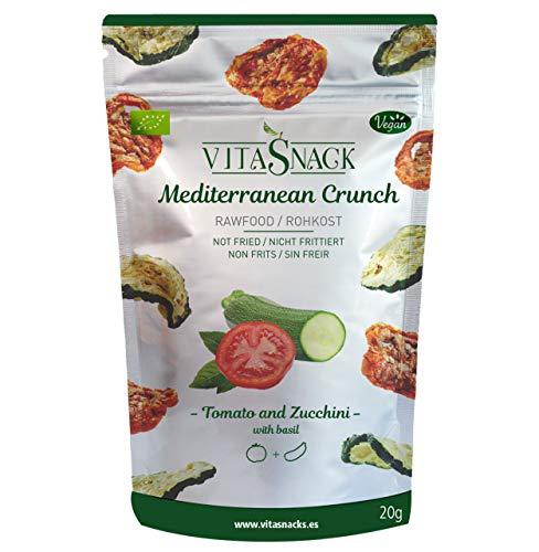 VitaSnack Organic Mediterranean Crunch (Tomato, Zucchini & Basil) (1*20G)