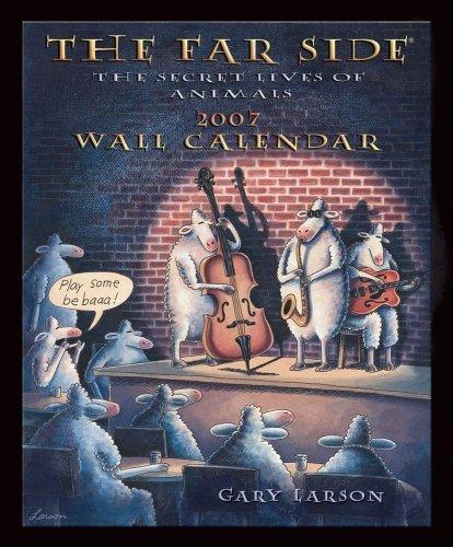 FAR SIDE 2007 WALL CALENDAR by Gary Larson (July 01,2006)