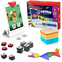 Osmo - Genius Starter Kit for iPad + Family Game Night - 7 Hands-On Learning Games for Spelling, Math & More - Ages 6-10...