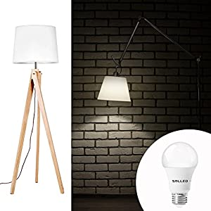 SOLLED A19 LED Bulb, LED Light Bulbs 100W Equivalent (11W), Daylight (5000K), 1100LM, CRI80+, ETL Listed, E26 Non-Dimmable Light Bulbs - 6 Pack
