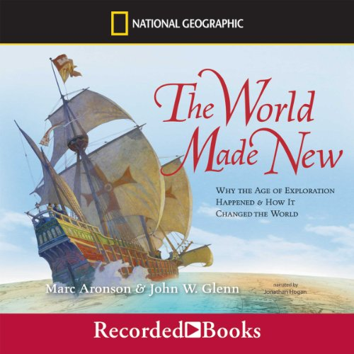 The World Made New audiobook cover art