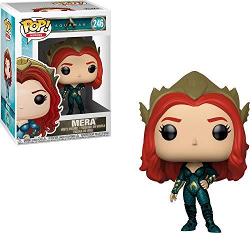Mera 246 Aquaman Boneco Funko Pop! Heroes Dc Comics Colecione Express