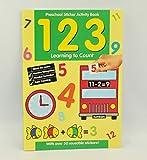 Alligator Books Libro de trabajo preescolar currículo nacional y libro para colorear (123)