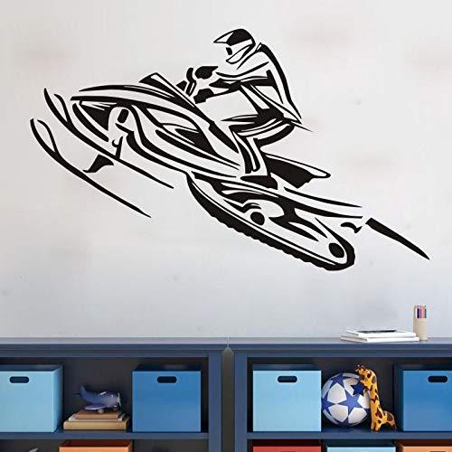 Pegatinas de pared, Personalidad creativa Dormitorio Cama Dormitorio Decoración de la pared Papel tapiz PVC Coaster Fondo se puede quitar Mural 57x94cm