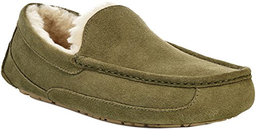 UGG Men's Ascot Slipper, moss green, 07 M US