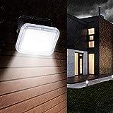 Faretto LED da Esterno 10W, IP67 Resistente all'acqua Luci di Sicurezza 6500K Super Luminoso Bianca Fredda Proiettori per Esterni Giardino, Terrazza, Cortile [Classe energetica A + ]