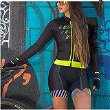 Triatlón se adapta a las mujeres, traje para mujer, traje de ciclismo, desgaste de ciclismo (Color : 2, Size : Large)