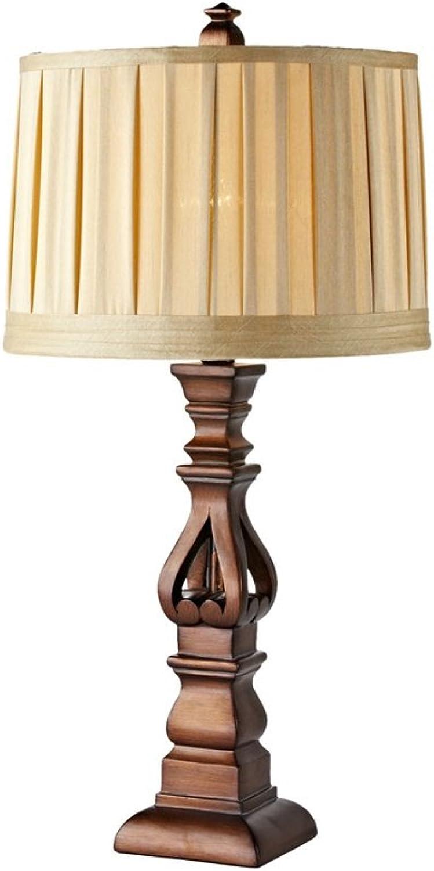 XiuXiu Europäische Minimalistische Minimalistische Minimalistische Massivholz Lampe Nachttischlampe Wohnzimmer Studie Büro Schlafzimmer Dekoration Tischlampe B07HMN4Y17     | Feinen Qualität  90b177