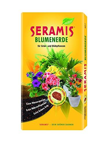 Seramis Blumenerde 40 L Torffreie Erde, gelb, 40,0 x 7,7 x 80,0 cm, 730703