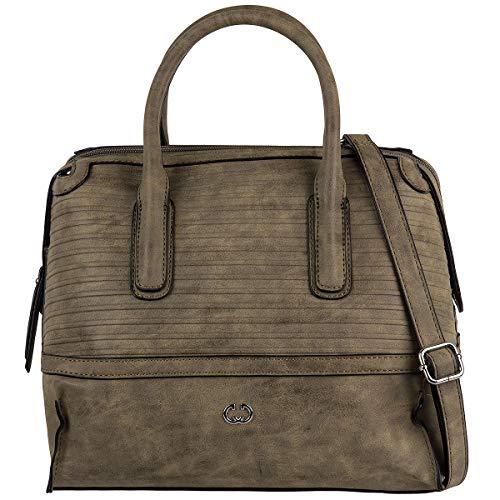 Gerry Weber Soul Bowling Bag Handtasche Schultertasche Tasche 4080003769, Farbe:Mud