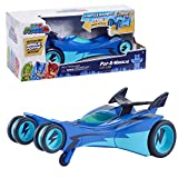 PJ Masks Pop-A-Wheelie Cat-Car, PJ Masks Vehicle with Lights and Sounds, by Just Play