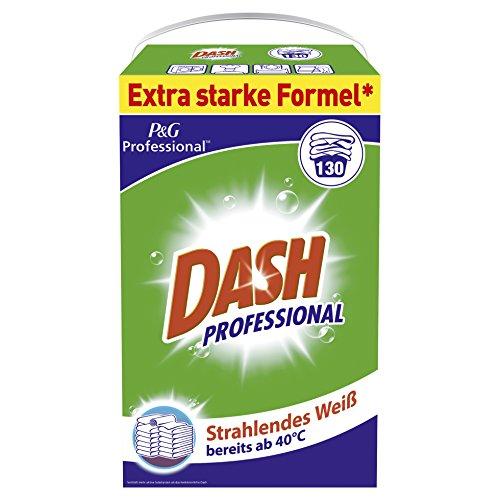 Dash Professional Vollwaschmittel Regulär Pulver 8,45kg, 130Waschladungen
