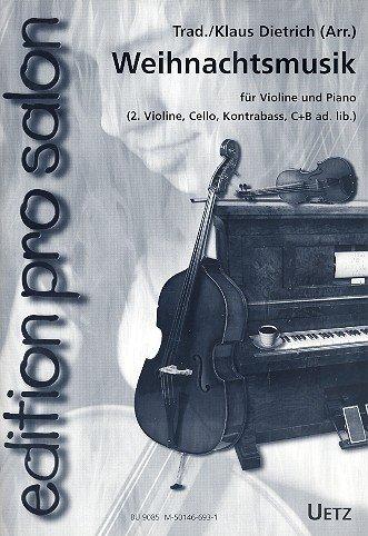 Kerstmuziek: voor viool en piano (viool 2, violoncello, contrabass ad lib).