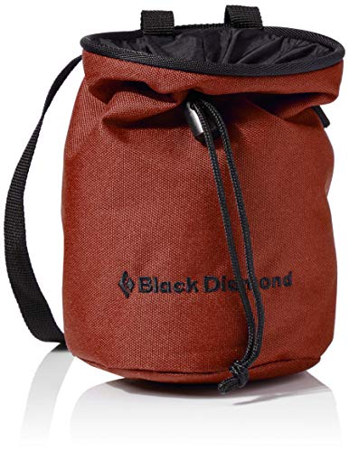 Black Diamond Unisex – Erwachsene MOJO CHALK BAG Chalkbag, Magnesia-Beutel, Red Oxide, Medium/Large