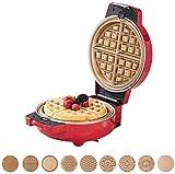 GDD Macchina per waffel Sandwich Panini Machine, Multi-Functional cialda Colazione Macchina con 9 Diversi Tipi di Cottura antiaderenti Vassoi for Fare Muffins/Carne arrosto/Ice Cream Dolci, ECC