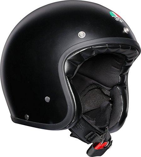 AGV Unisex X70 Agv E2205 Solid - Motorrad Helm, schwarz, XXL EU