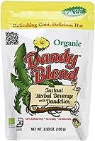 Dandy Blend タンポポ入りオーガニック インスタントハーブ飲料 カフェインフリー 100g 3 53オンス