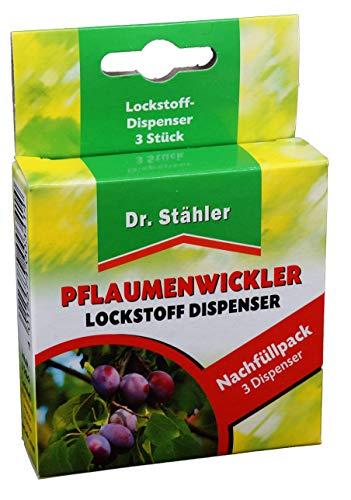 Dr. Stähler Pflaumenwickler Pheromon-Lockstoff, 3 Dispenser