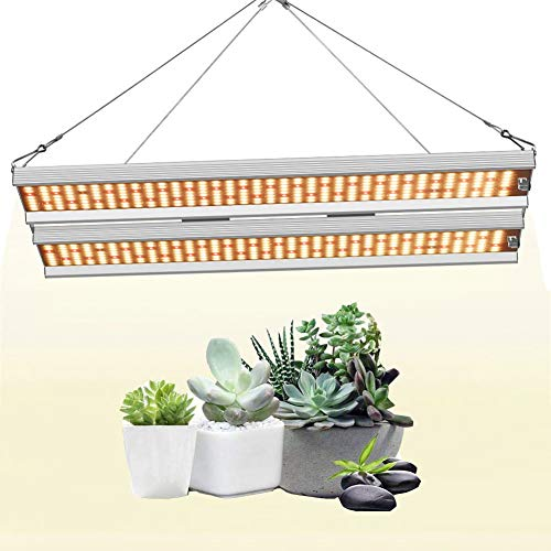 Plant Lamps with Hanging Kit, Indoor Seedling, Greenhouse, Hydroponic LED Grow Light IP65 Waterproof Connector, Power Supply,