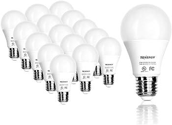 16-Pack Tenergy 9-Watt LED Light Bulb