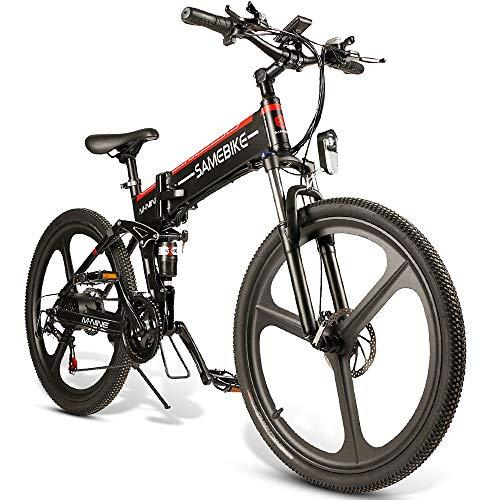 Lixada Vélo Electrique 26' E-Bike Pliant électrique Power...