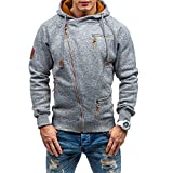 Mens Casual Long Sleeve Hoodies ...