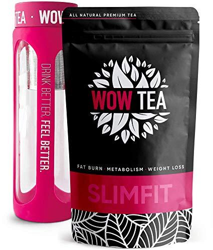 WOW TEA 21 Days Tea - Efficace Tè Programma Perdita Di Peso E Disintossicazione | Tè Per Drenare, Purificare E Snellire | Tè A Foglia Sfusa | Made In EU | 150G