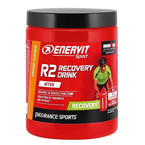 Enervit Sport Recovery Drink Powder, Orange, 6 x 400g