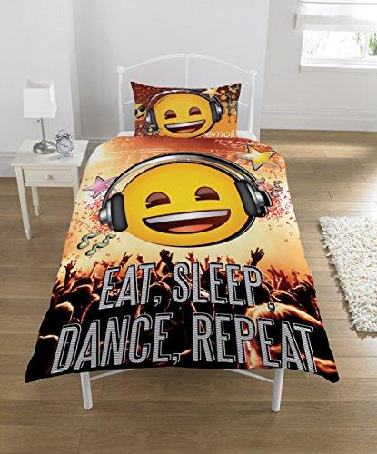 Emoji Bettwäsche Set, Polybaumwolle, Multi-Color