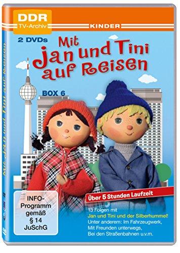 Mit Jan und Tini auf Reisen - Box 6 (DDR TV-Archiv) [2 DVDs]