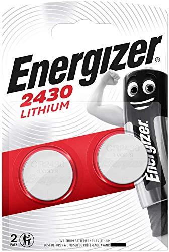 Energizer CR2430 Batterien, Lithium Knopfzelle, 2 Stücke