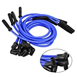 Spark Plug Wire Set 10.5mm Electronic IgnitionCables for SBC BBC HEI 350 383 454 90 to Straight