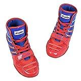 Willsky Botas De Boxeo, Zapatos De Entrenamiento De Lucha Combate Unisex Adultos Profesión Juvenil De Artes Marciales Calzado Ligero Y Transpirable,LOWTOP,41
