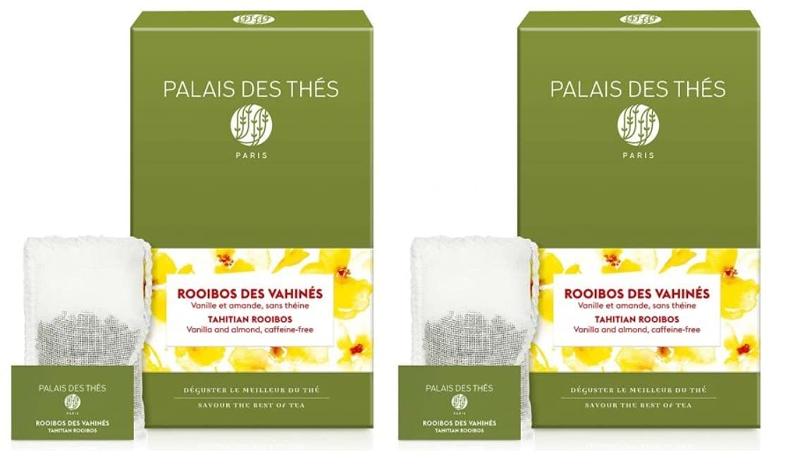 Palais des Thés Rooibos Vahines Tea with It is very popular Vanilla 67% OFF of fixed price a Herbal