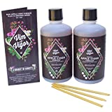 Vim & Vigor Bundle, Apple Cider Vinegar Herbal Infused Tonic with Honey Sticks, Daily Shots, 14 Herbs & spices, Raw, Certified Organic, USA Grown & Sourced