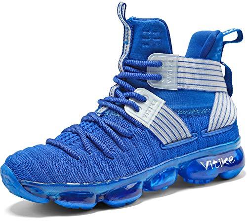 Garçon Fille Sneakers Chaussures de Basketball Mixte Enfant Baskets Mode Tennis Sneakers Chaussures de Sport en Salle