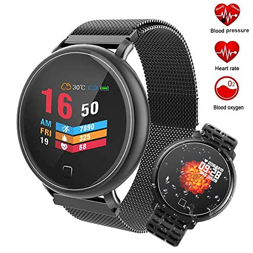 Activiteit Fitness Tracker, IP67 Waterdicht Activiteit Tracker, Stappenteller Met Hartslagmeter & Sleep Monitor, Touch Screen Fitness Armband Voor Vrouwen Mannen Kids Smart Horloge