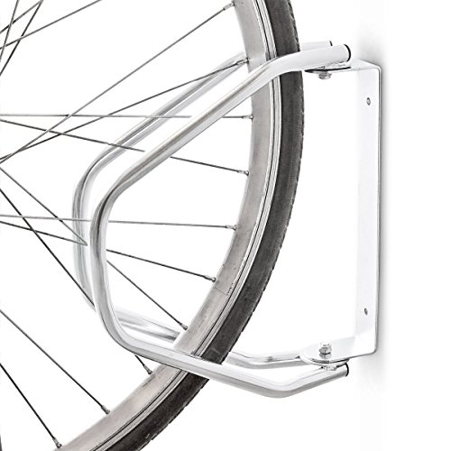 Relaxdays Soporte para Bicicleta a Pared ? Ajustable