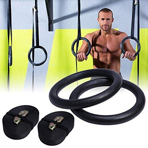 NIEUWE Gymnastiek Gym Ringen Hoop Crossfit Fitness Thuis Workout Duik in